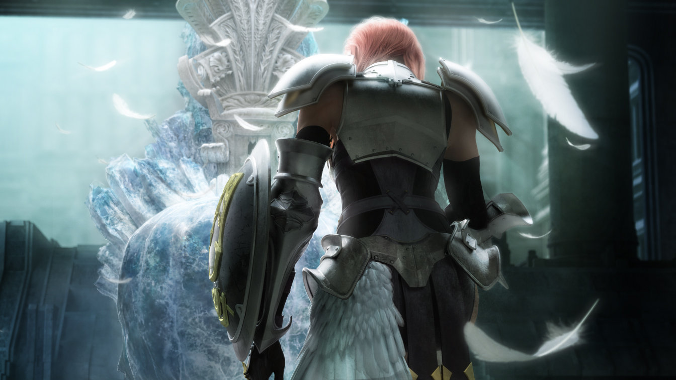 final fantasy hd wallpaper: final fantasy xiii-2