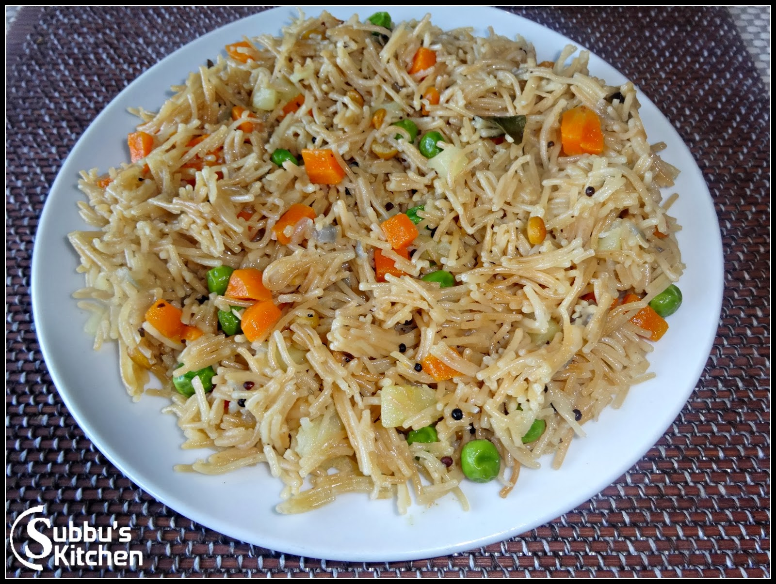 how to make vermicelli upma