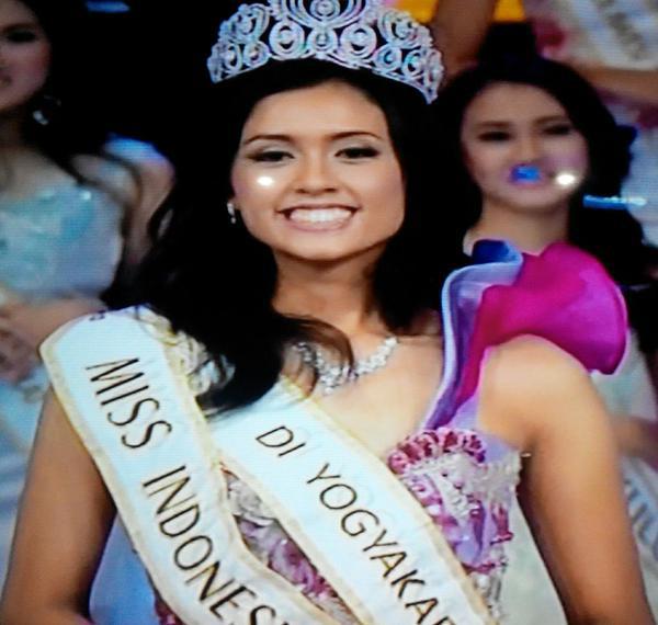 Profil Pemenang Miss Indonesia 2015, Maria Harfanti