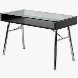 Flash Furniture Brettford Glass Desk