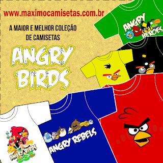 Camisetas Angry Birds