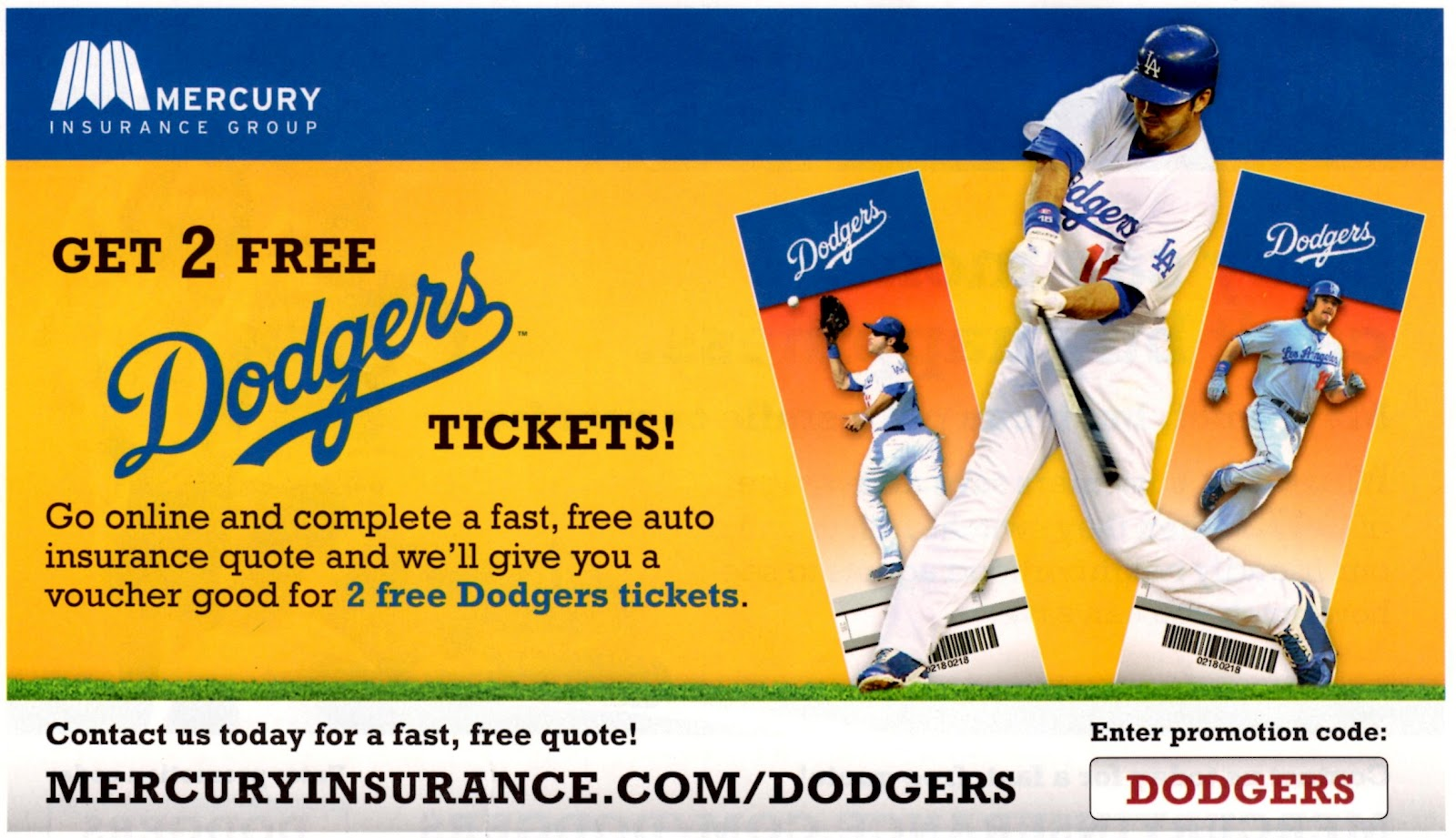 Mercury Insurance Quote Vin Scully Is My Homeboy Get 2 Free Dodgers Tickets From Mercury