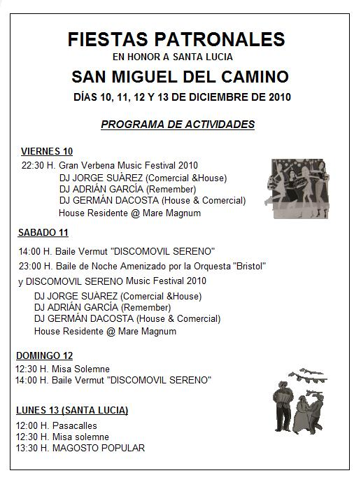 San miguel del camino febrero 2011 - San miguel del camino ...