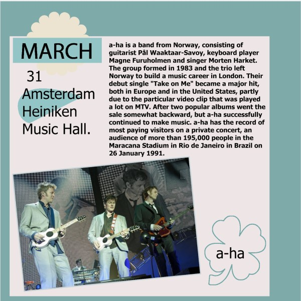 April (March) 2016 page 3 - a- ha in review