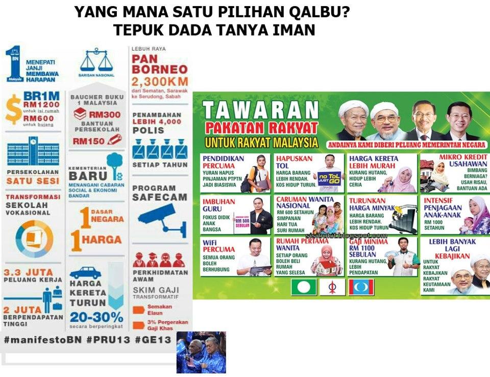 Barisan Nasional (BN) menjanjikan Malaysia yang lebih hijau dengan ...