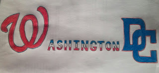 washington dc nationals colored pencil art