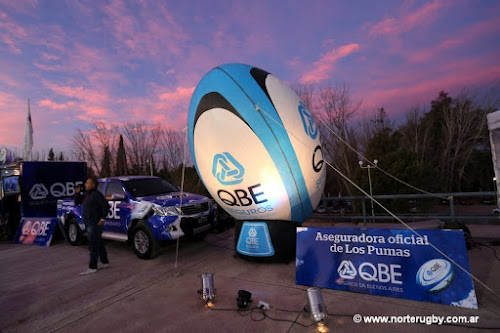 QBE Seguros La Buenos Aires acompañó a Los Pumas en Mendoza