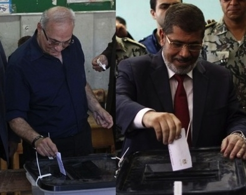 Shafik and Morsi
