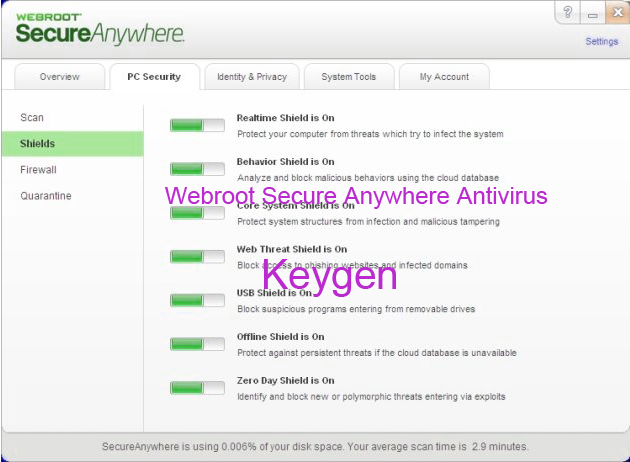 Webroot SecureAnywhere Antivirus 2015 Keygen Portable License Serial Download