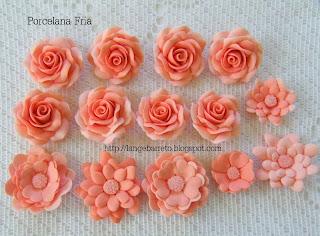 Flores porcelana fria Lange