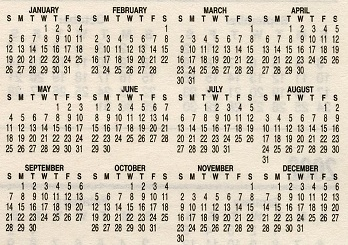December 1987 Mahalaxmi Calendar | New Calendar Template Site