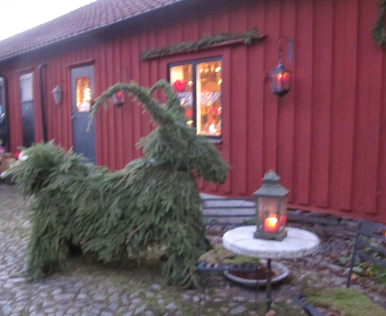 Julmarknad på gården