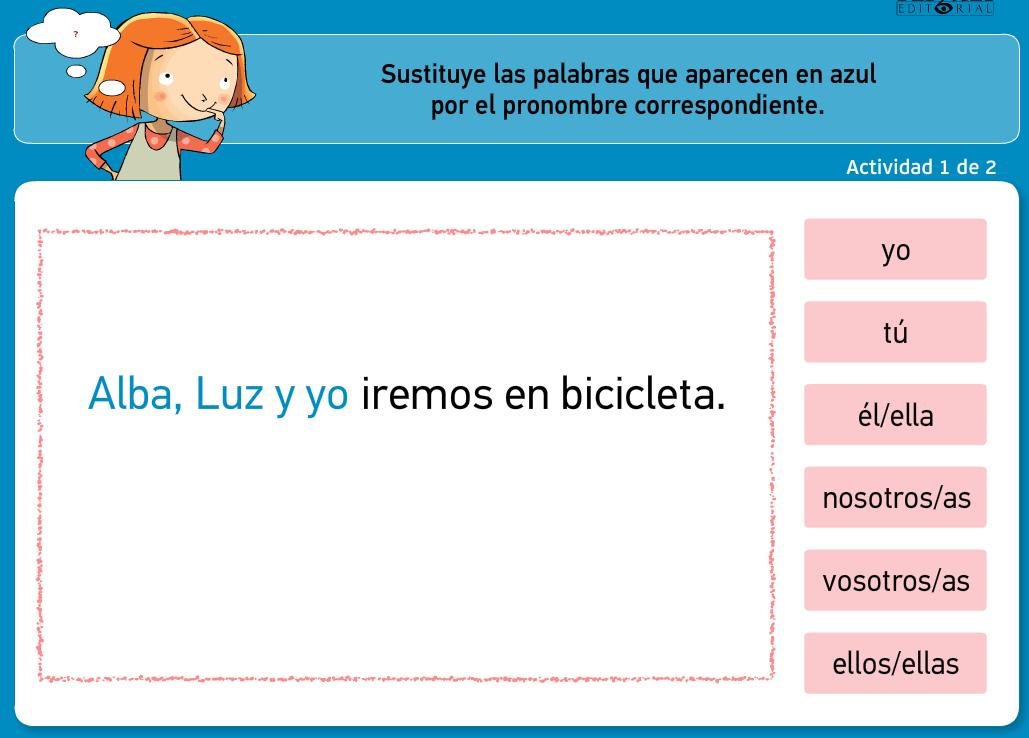 http://www.primerodecarlos.com/TERCERO_PRIMARIA/archivos/actividades_tilde_tercero/8/pronombre_personal.swf