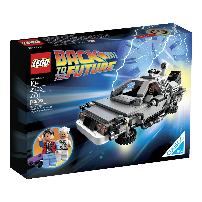 Sasaki Time: LEGO 21103 The DeLorean Time Machine Building ...