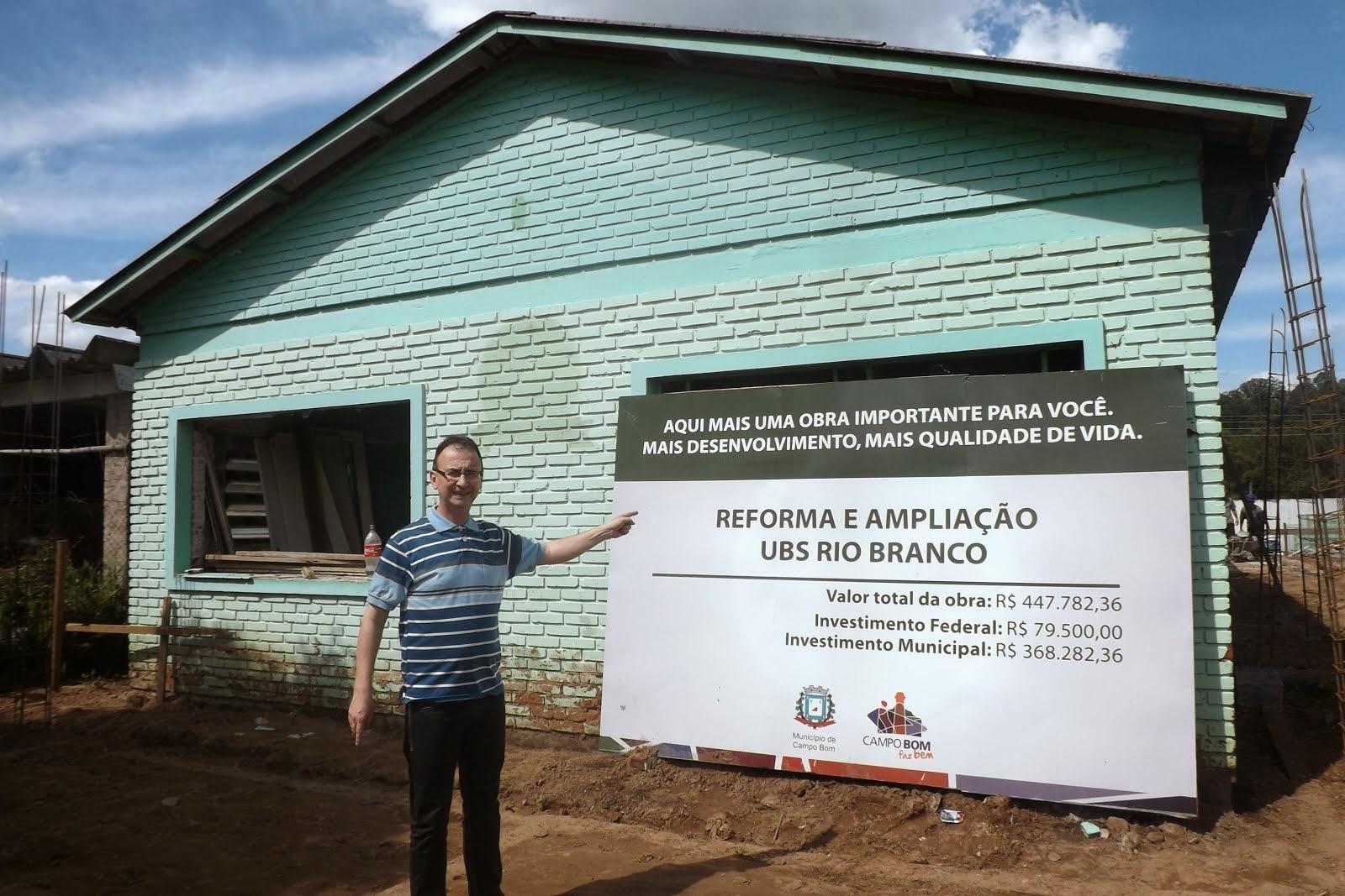 JAIR WINGERT VISTORIA OBRAS NO RIO BRANCO