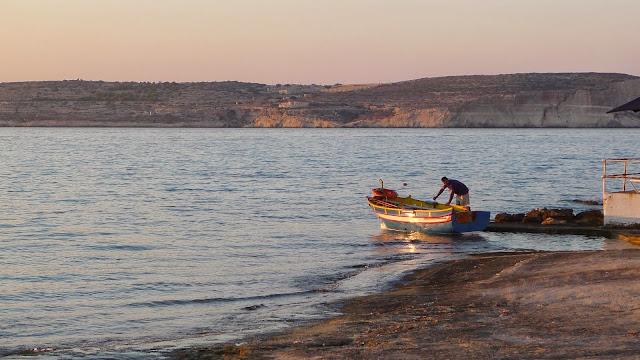 A Malta sunset