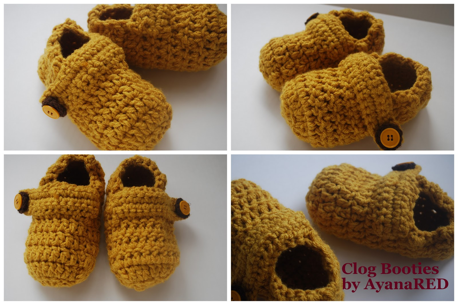 Logical Ramblings by AyanaRED: Clog Slippers Pattern