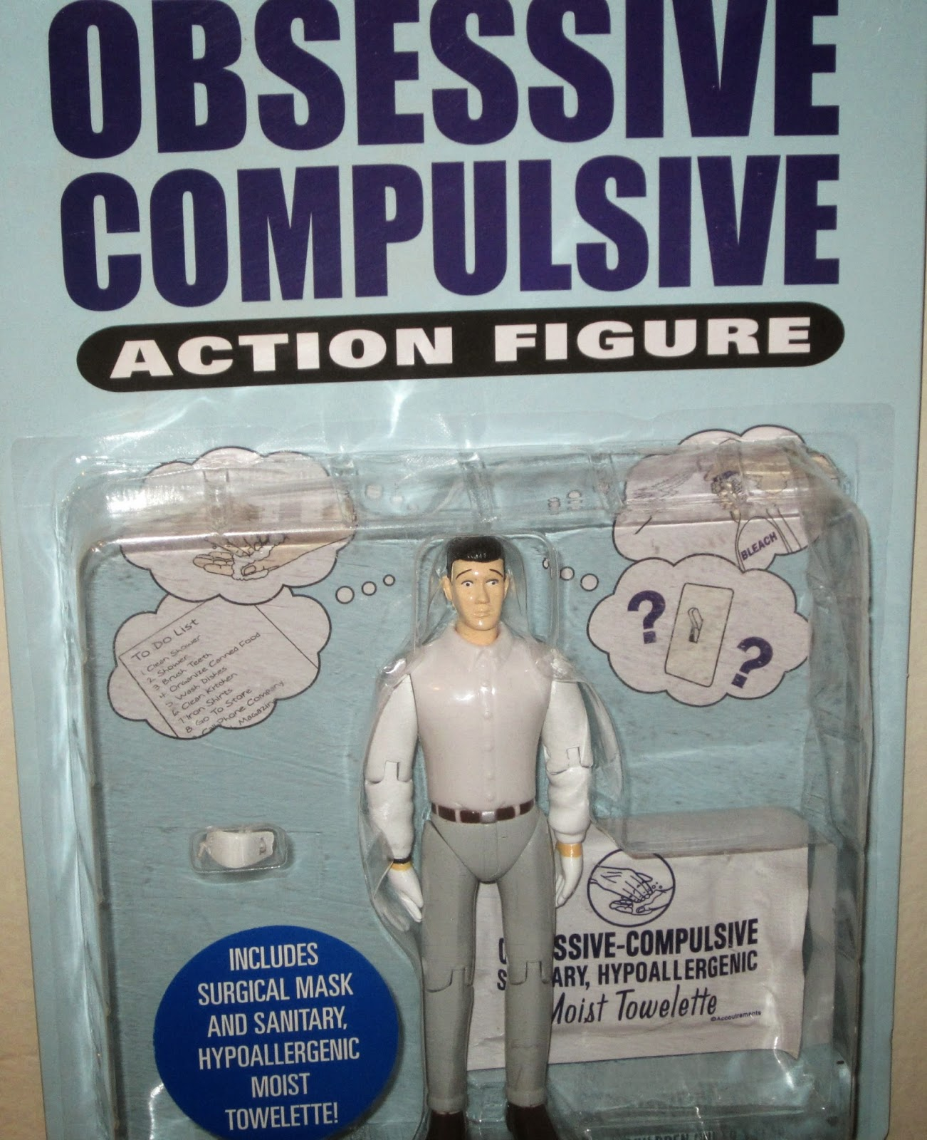 Obsessive Compulsive Action Figure - a photo on Flickriver