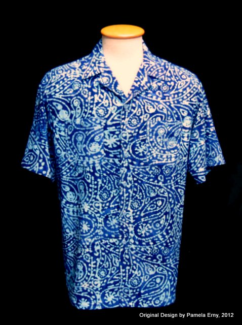 Off the cuff sewing style june 2012 for Men s batik bay silk blend button down shirt
