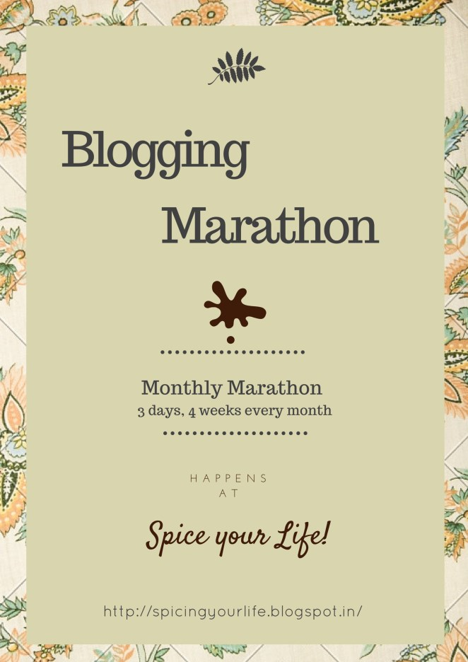 Blogging Marathon