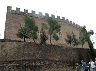 Façana de ponent del Castell de Balsareny