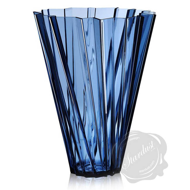 modern flower vases kartell shanghai vase transparent or metallic. Black Bedroom Furniture Sets. Home Design Ideas