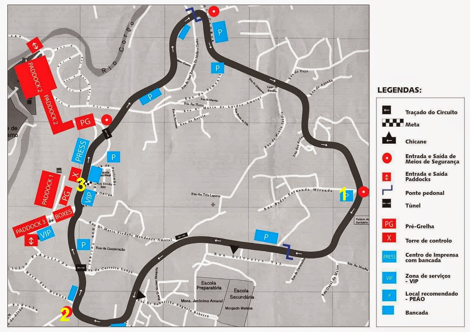 Circuito Vila Real : Chicane corridas de vila real os pontos chave do circuito