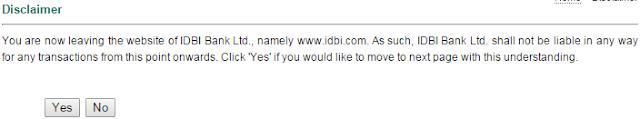IDBI Executive exam