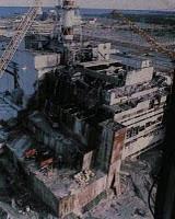 Central Nuclear de Chernóbil detruida