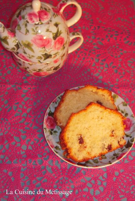 cake noix de coco et pépites de chocolat chunks