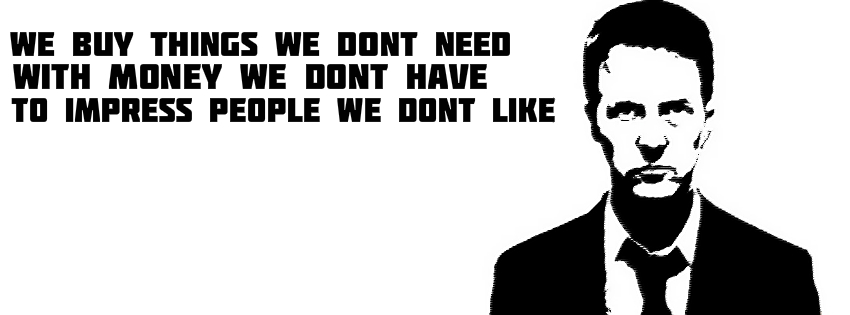 Killer Facebook Covers: Fight Club (2 Covers)