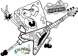 new spongebob squarepants coloring sheets