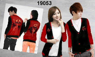 Jaket couple devil angel