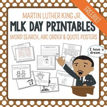 https://www.teacherspayteachers.com/Product/Martin-Luther-King-Jr-Free-1649319