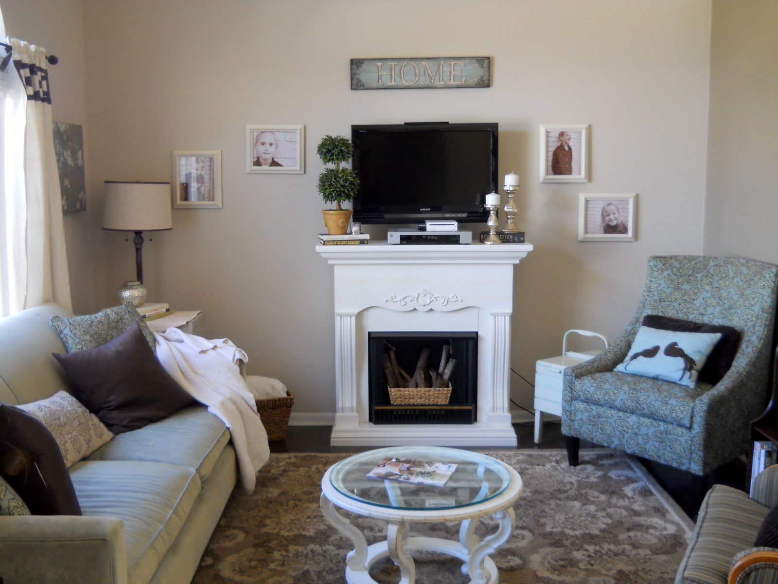 Living Room Wall Storage. Another Living Room Update homey home design