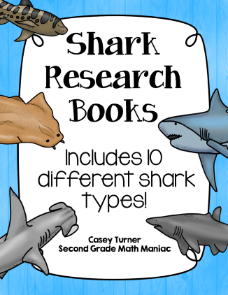 https://www.teacherspayteachers.com/Product/Shark-Research-Books-1713286