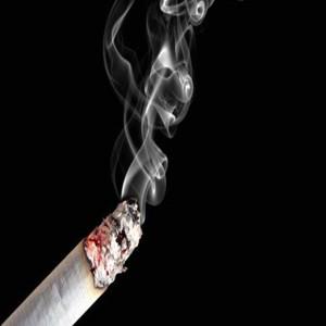 A foto de pessoas que deixaram de fumar