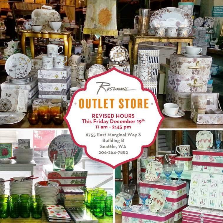 Rosanna Outlet store