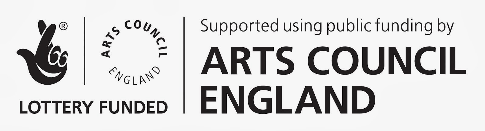 Supported with public funding by the National Lottery through Arts Council England