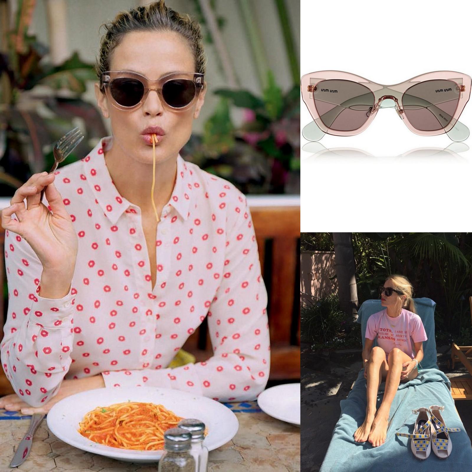 Best sunglasses, Miu Miu, Caroline Murphy