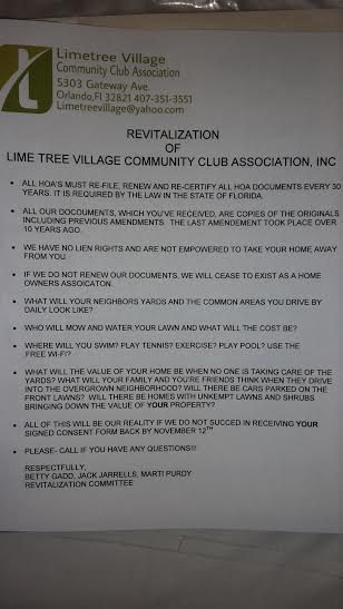 Free Lime Tree: You cannot spell LIEN without LIE!