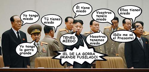 el villano arrinconado, humor, chistes, reir, satira, corea, Kim Jong-un