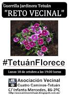 Reto vecinal: #TetuánFlorece