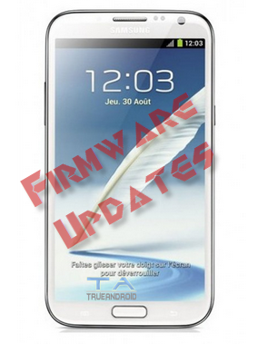 Galaxy Note 2 TD-LTE