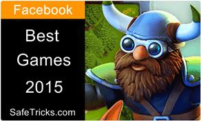 popular facebook games 2015