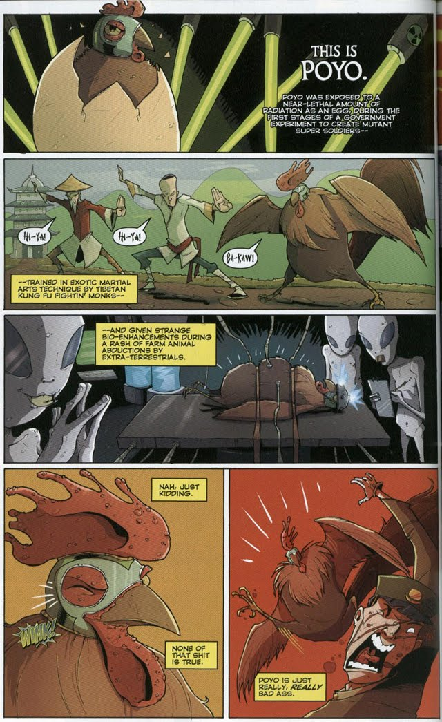 Chew #18 by John Layman and Rob Guillory