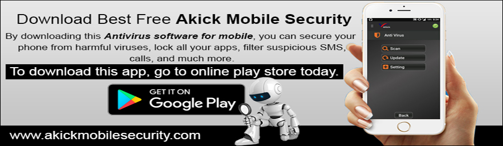 Akick Mobile Security Antivirus
