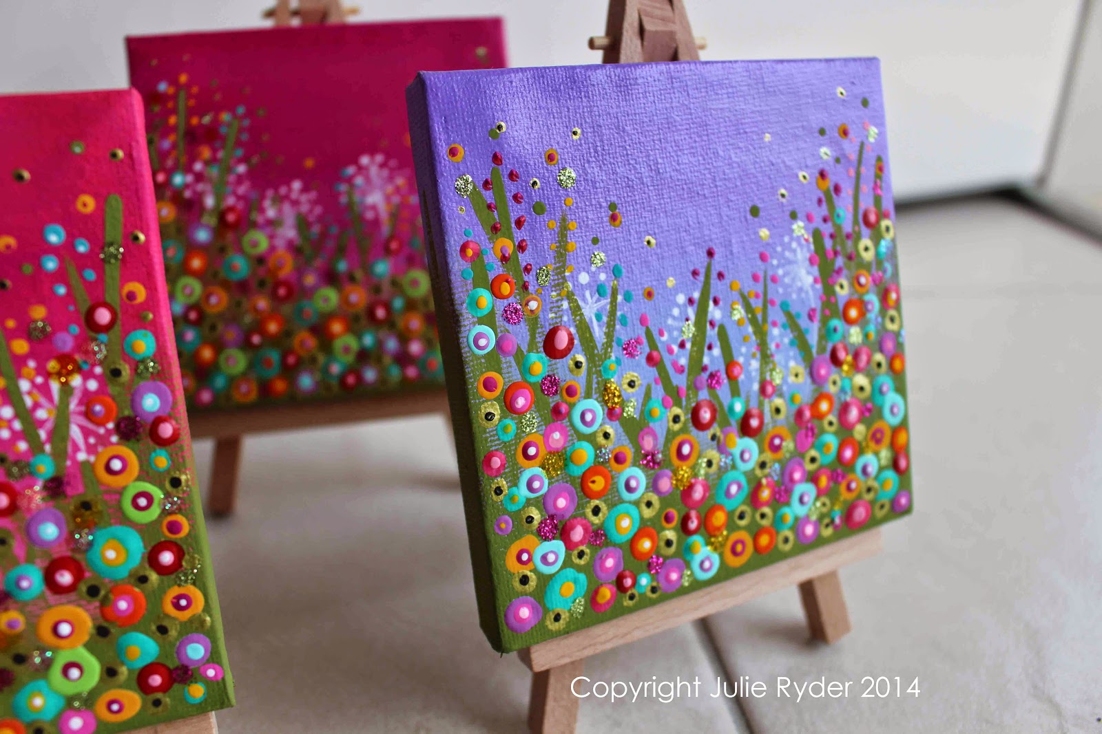 made by me julie ryder tiny and mini canvas
