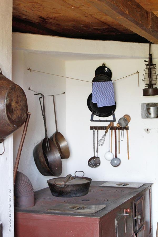 Wir renovieren Ihre Küche : Historische Kueche - Glentleiten