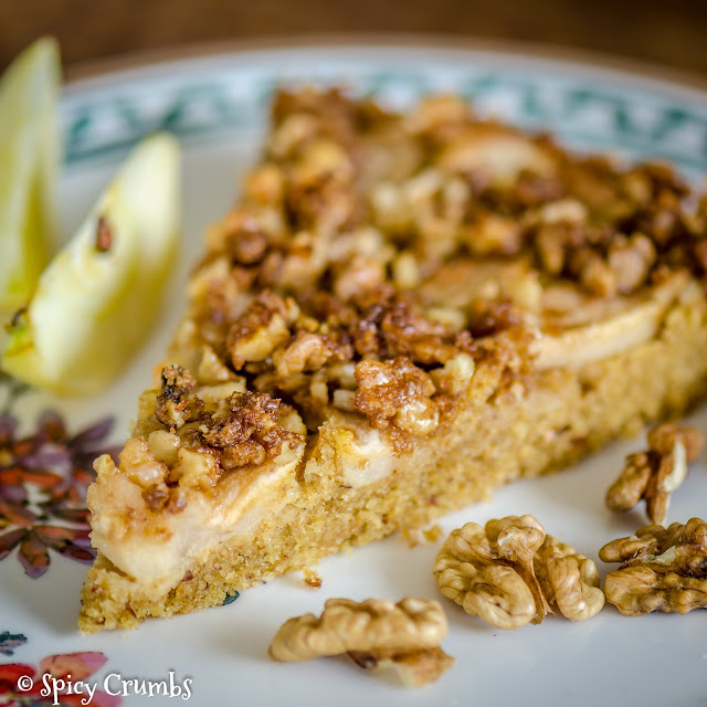 Podzimní jablkový koláč